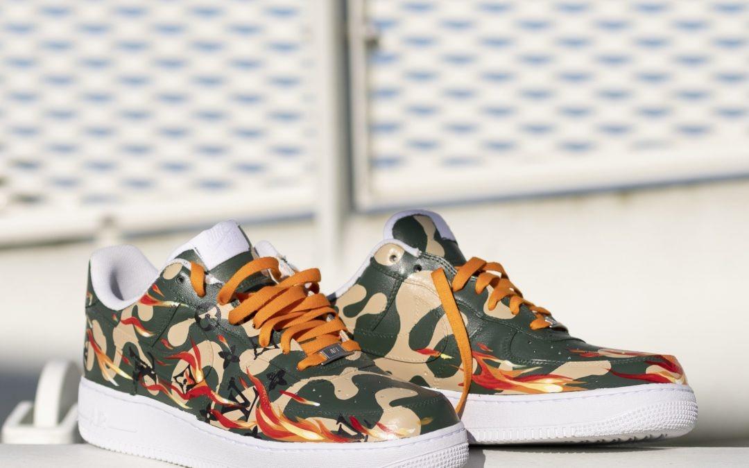 Handpainted Nike AF1